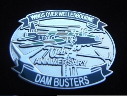 Wings Over Wellesbourne - Dam Busters - 70th Anniversary Badge