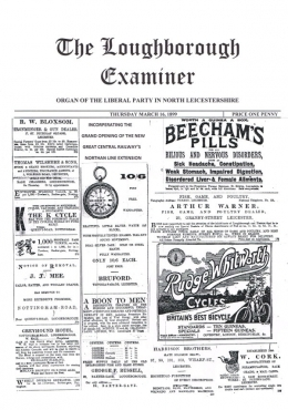 The Loughborough Examiner - Great Central Railway